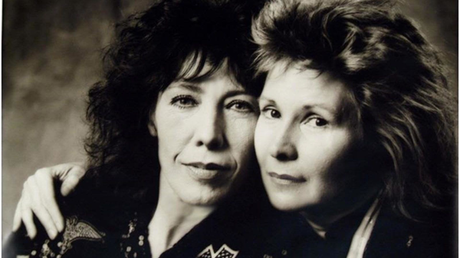 Jane Wagner and Lily Tomlin Young